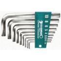Zestaw kluczy imbusowych 1.5-10MM chrom Stahlwille