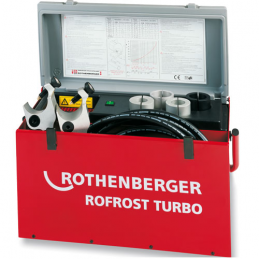 "Zamrażarka do rur ROTHENBERGER ROFROST TURBO 5/4"" z 6 redukcjami"