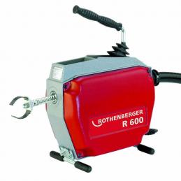 Przepycharka ROTHENBERGER R600 - zestaw