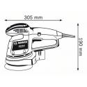 Szlifierka mimośrodowa BOSCH GEX 125 AC
