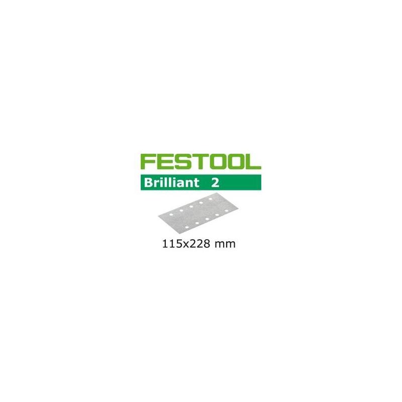 Papier ścierny FESTOOL 115x228mm gr.220, 1 szt