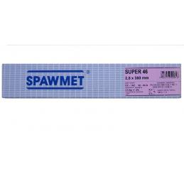 Elektrody rutylowo-celulozowe SPAWMET SUPER46 FI 2,5X350 3,6KG