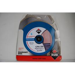 Tarcza diamentowa RUBI CPA 250 SUPERPRO