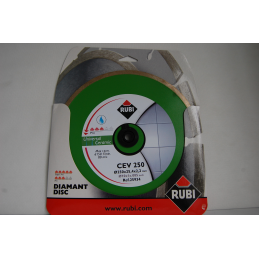 Tarcza diamentowa RUBI CEV 250 PRO