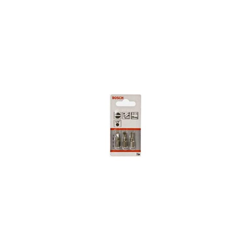 Zestaw końcówek wkrętakowych BOSCH S1,2x6,5