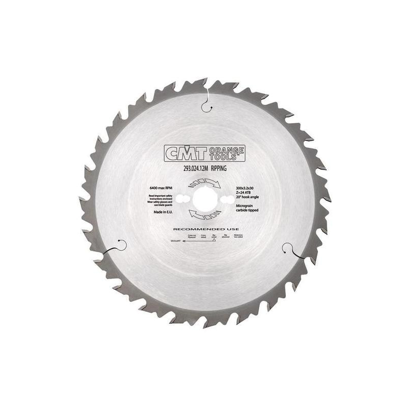 Tarcza pilarska CMT 190x30 Z-24, 291.190.24M