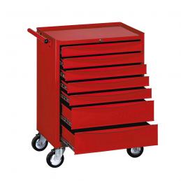Wózek narzędziowy TENGTOOLS  TENG-141 z 7 szufladami 141-elementów
