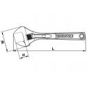 Klucz nastawny 206mm TENG TOOLS 4003IQ