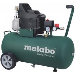 Kompresor tłokowy METABO BASIC 250-50 W