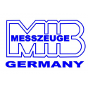 Kątownik ślusarski płaski MIB MESSZEUGE 100mm x 70 mm